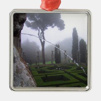 トスカナ式の庭 メタルオーナメント