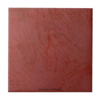 トスカナ式の赤いベニス風プラスターセラミックタイル タイル