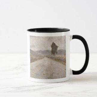 トスカナ式の道、c.1899 (板) マグカップ