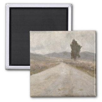 トスカナ式の道、c.1899 (板) マグネット