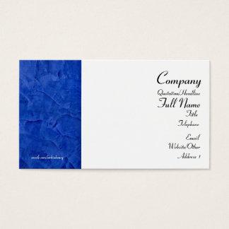 トスカナ式の青い名刺 名刺