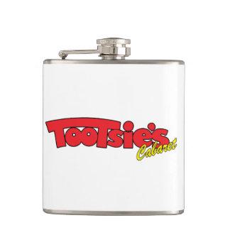 トッツィーのキャバレーのステンレス鋼のフラスコ フラスク