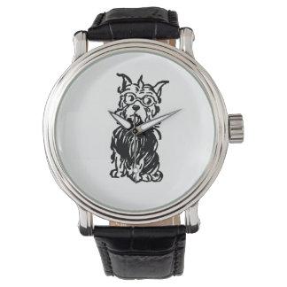 トト有名なCairinテリア犬 腕時計