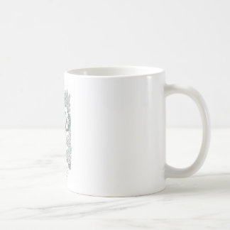 トナカイの供給 コーヒーマグカップ