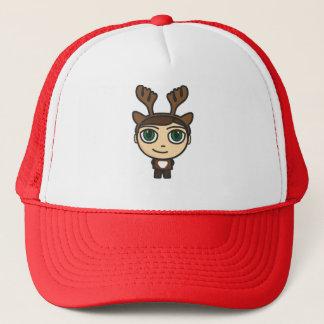 トナカイの男の子のマンガのキャラクタの帽子か帽子 キャップ