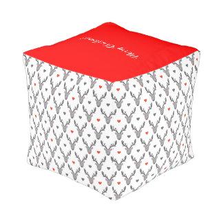 トナカイ! 立方体にされたPouf (小さい) プーフ