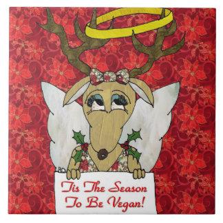 トナカイTisビーガンの天使のタイルがある季節 タイル
