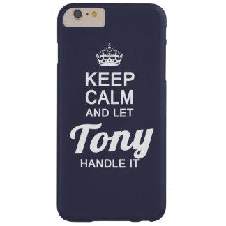 トニーをそれを扱うことを許可して下さい! BARELY THERE iPhone 6 PLUS ケース