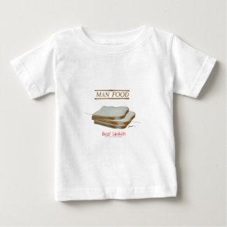 トニーFernandesの人の食糧-パンサンドイッチ ベビーTシャツ