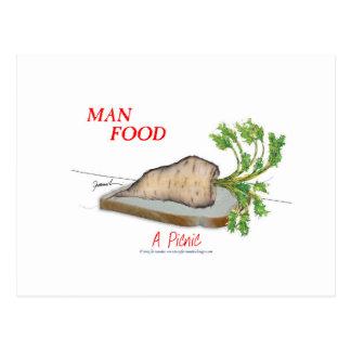 トニーFernandesの人の食糧-ピクニック ポストカード