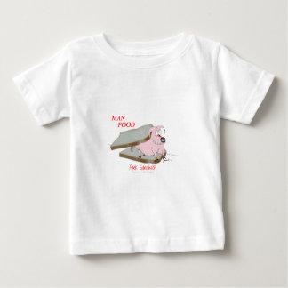 トニーFernandesの人の食糧-ポークサンドイッチ ベビーTシャツ