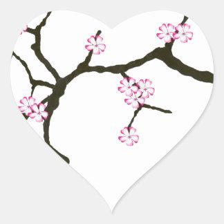 トニーFernandesの桜の花2 ハートシール