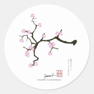 トニーFernandesの桜の花2 ラウンドシール