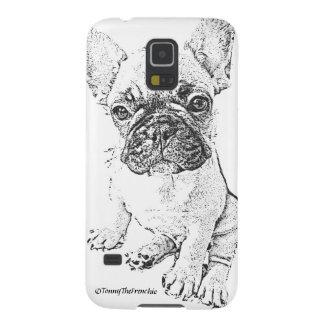 トニーFrenchieの電話箱! Galaxy S5 ケース