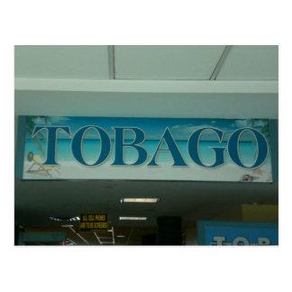 トバゴ ポストカード
