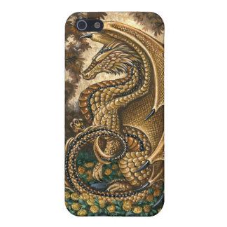 トパーズのドラゴンiPhone4の箱 iPhone 5 カバー