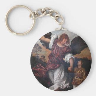 トビアスおよび大天使Raphael - Titian キーホルダー