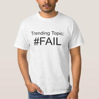 トピックの#Failを向くこと Tシャツ
