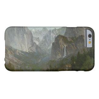 トマスの丘-キャンプファイヤー、ヨセミテの谷のインディアン BARELY THERE iPhone 6 ケース