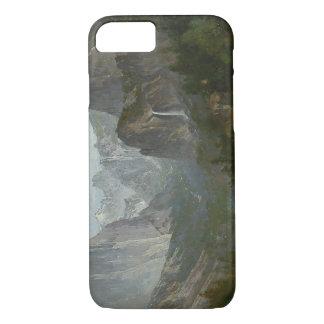 トマスの丘-キャンプファイヤー、ヨセミテの谷のインディアン iPhone 8/7ケース