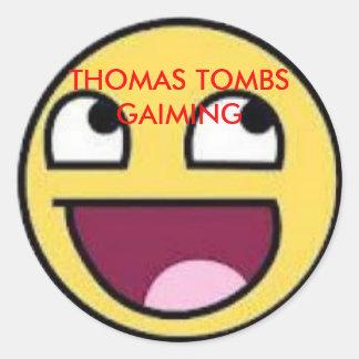 トマスの墓GAIMING ラウンドシール