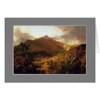 トマスのCole、Schroon山のAdirondacks、1838. カード