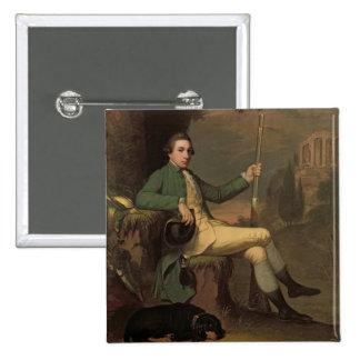 、トマスグラハムLynedoch (1748-1843年の) c.1769男爵( 5.1cm 正方形バッジ