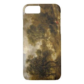 トマス・ゲインズバラ-サフォークの景色 iPhone 7ケース