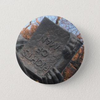 トマス・ペインが保持する本ボタンの人権 5.7CM 丸型バッジ