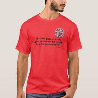 トマス・ペインのワイシャツライトのためのそして着色される Tシャツ