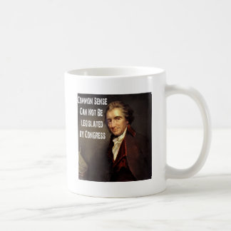 トマス・ペインの常識のコップ コーヒーマグカップ