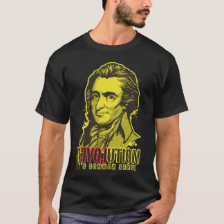 トマス・ペインの改革のTシャツ Tシャツ