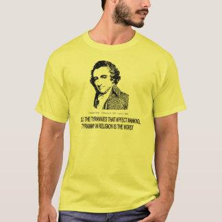 トマス・ペイン Tシャツ