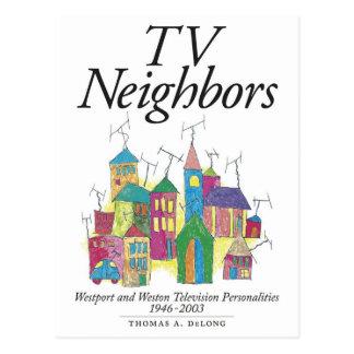 トマスA. DeLong著TVの隣人 ポストカード