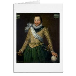 トマスButton (d.1694)海軍大将 グリーティングカード
