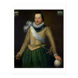 トマスButton (d.1694)海軍大将 ポストカード