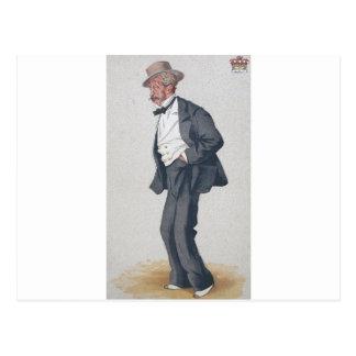 トマスEgertonのウィルトンの第2伯爵の風刺漫画 ポストカード