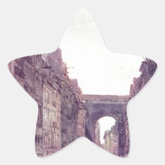 トマスGirtin著パリの通り聖者デニス 星シール