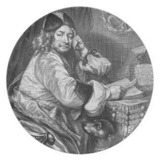 トマスKilligrewの(1612-83年の)復帰のポートレート プレート