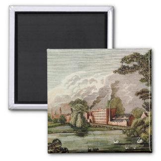 トマスLombe's Silk Mill、ダービー マグネット