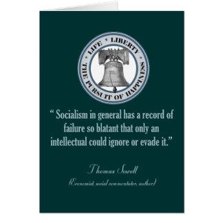 トマスSowell (社会主義) カード