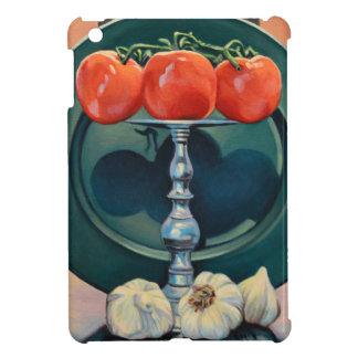 トマトおよびニンニク iPad MINI カバー