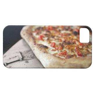 トマトが付いているピザ、ニンニクおよび肉は代わりになります iPhone SE/5/5s ケース