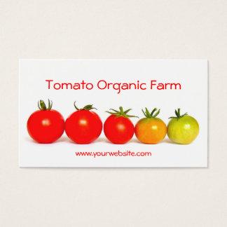 トマトのオーガニックな農場 名刺