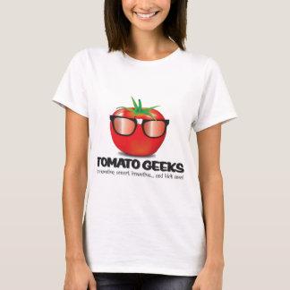 トマトのギークの物 Tシャツ
