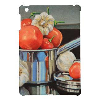 トマトのコショウのニンニクのメドレー iPad MINIケース