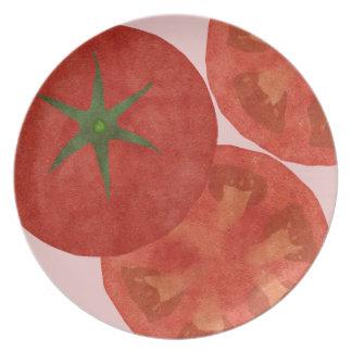 トマトのメラミンプレート プレート