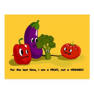 トマトのユーモア ポストカード