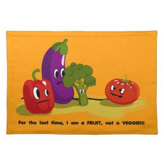 トマトのユーモア ランチョンマット