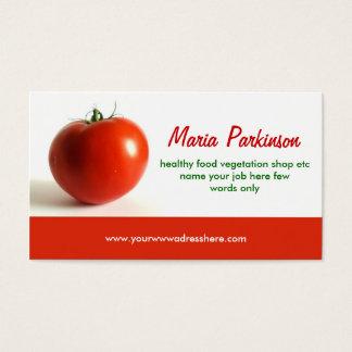 トマトの名刺のデザイン 名刺